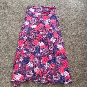 Lula Roe Maxi Skirt - Large